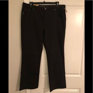 Jeans Merona Bootcut, Black, 18R, NWT